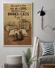 Pallet Dictionary Books Cats Once Upon A Time 11x17 Poster lifestyle-poster-1