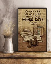 Pallet Dictionary Books Cats Once Upon A Time 11x17 Poster lifestyle-poster-3