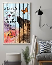Pallet Angels Sometimes Have Paws German Shepherd 11x17 Poster lifestyle-poster-1