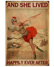 She Lived Happily Skating 16x24 Poster front