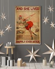 She Lived Happily Skating 16x24 Poster lifestyle-holiday-poster-1