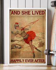 She Lived Happily Skating 16x24 Poster lifestyle-poster-4