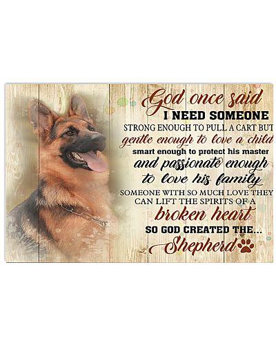 God Once Said German Shepherd