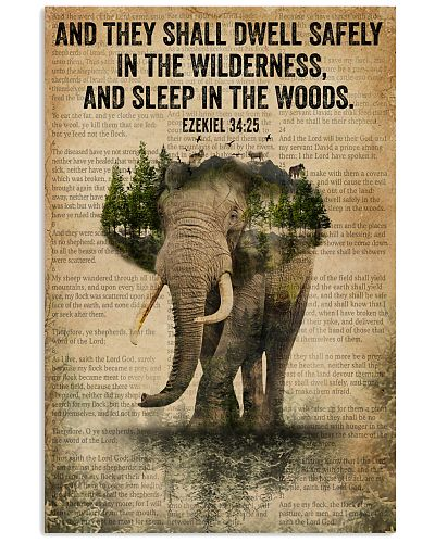 Forest Bible Sleep In The Woods Elephant