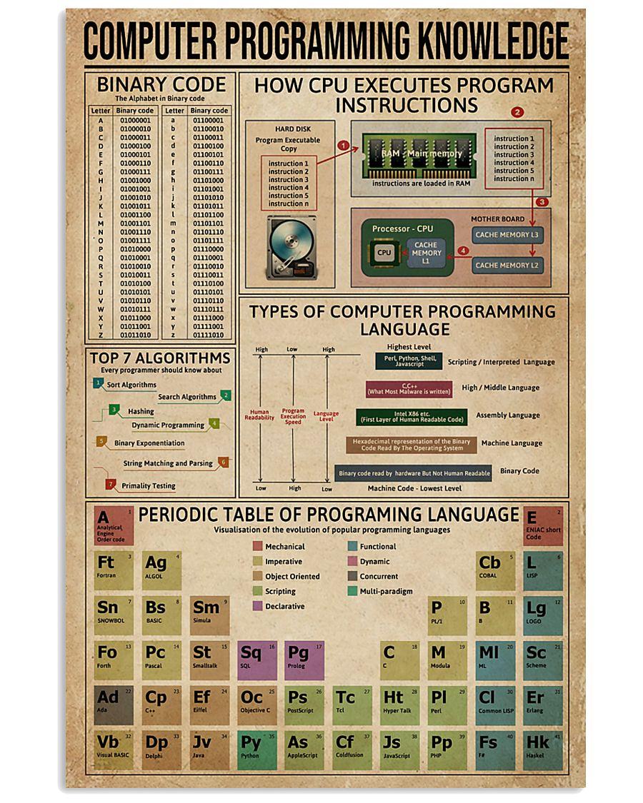 Computer Programming 11x17 Poster