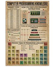 Computer Programming 11x17 Poster front