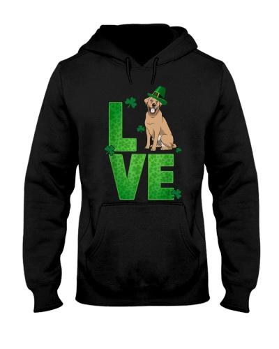 Labrador Retriever Love St Patrick's Day