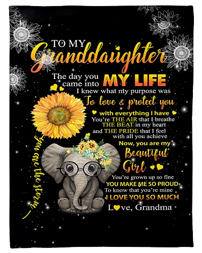 Grandma To Granddaughter Love Protect Elephant