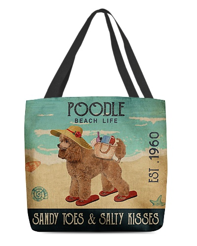 Beach Life Sandy Toes Poodle