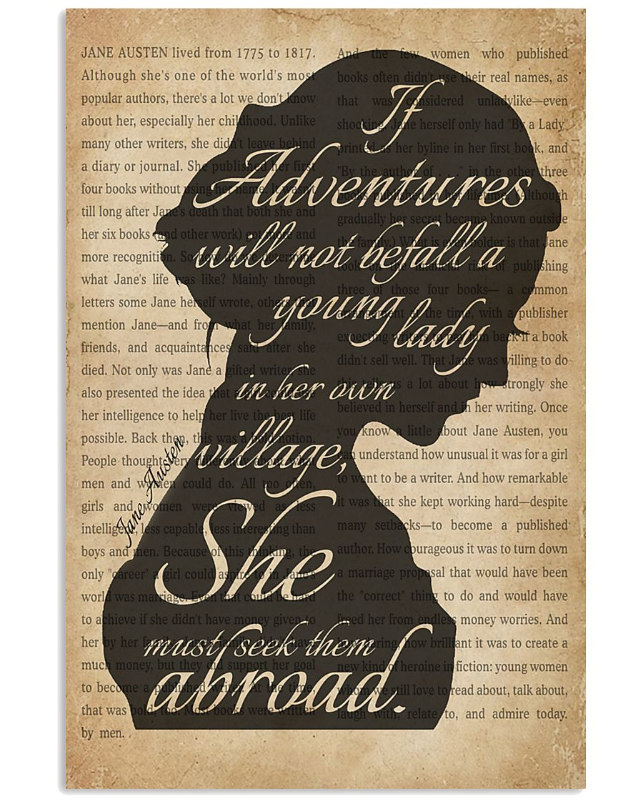 A Young Lady Jane Austen 11x17 Poster