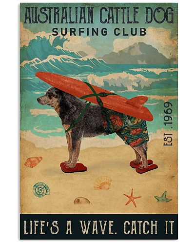 Surfing Club Australian Cattle Dog