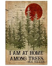 I Am At Home Among Trees Camping 16x24 Poster front