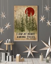 I Am At Home Among Trees Camping 16x24 Poster lifestyle-holiday-poster-1