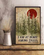 I Am At Home Among Trees Camping 16x24 Poster lifestyle-poster-3