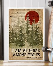 I Am At Home Among Trees Camping 16x24 Poster lifestyle-poster-4