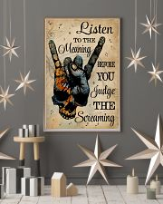Music Skull Hand Listen To The Meaning 11x17 Poster lifestyle-holiday-poster-1