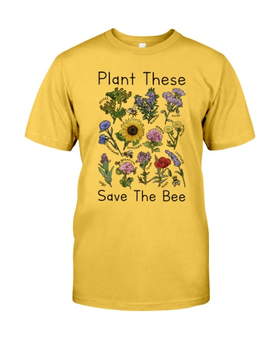 Plant These Save The Bee