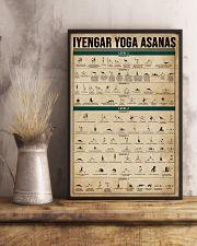 Iyengar Yoga Asanas 16x24 Poster lifestyle-poster-3