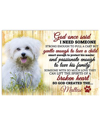 God Once Said Maltese