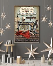 Sewing Room Skeleton 16x24 Poster lifestyle-holiday-poster-1