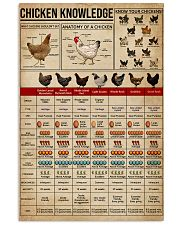 Knowledge Chickens 16x24 Poster front