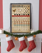 Knowledge Chickens 16x24 Poster lifestyle-holiday-poster-4