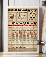 Knowledge Chickens 16x24 Poster lifestyle-poster-4