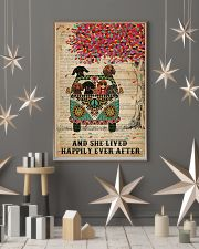 Dictionary And She Lived Happily Dachshund 11x17 Poster lifestyle-holiday-poster-1
