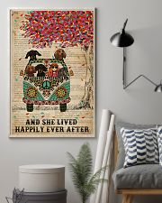 Dictionary And She Lived Happily Dachshund 11x17 Poster lifestyle-poster-1