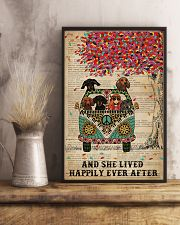 Dictionary And She Lived Happily Dachshund 11x17 Poster lifestyle-poster-3