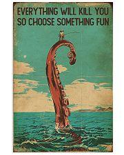 Vintage Choose Something Fun Fishing 16x24 Poster front