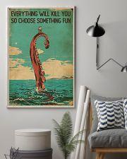 Vintage Choose Something Fun Fishing 16x24 Poster lifestyle-poster-1