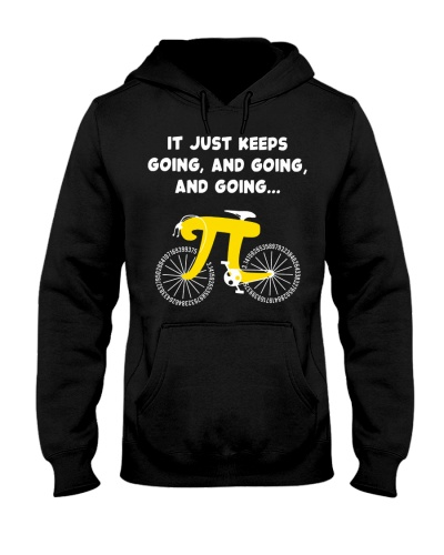 It Just Keeps Going Pi Bicycle Math