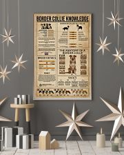 Border Collie Knowledge Dog 11x17 Poster lifestyle-holiday-poster-1