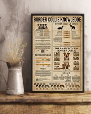 Border Collie Knowledge Dog 11x17 Poster lifestyle-poster-3