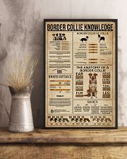 Border Collie Knowledge Dog 16x24 Poster lifestyle-poster-3