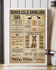 Border Collie Knowledge Dog 16x24 Poster lifestyle-poster-4