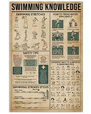Swimming Knowledge Sport 11x17 Poster front