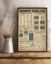 Swimming Knowledge Sport 11x17 Poster lifestyle-poster-3