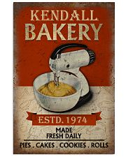 Personalized Baking Made Fresh Daily 16x24 Poster front