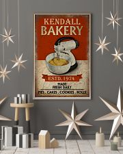 Personalized Baking Made Fresh Daily 16x24 Poster lifestyle-holiday-poster-1