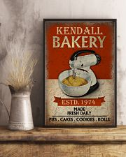 Personalized Baking Made Fresh Daily 16x24 Poster lifestyle-poster-3