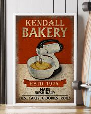 Personalized Baking Made Fresh Daily 16x24 Poster lifestyle-poster-4