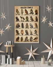 Know Your Owls 16x24 Poster lifestyle-holiday-poster-1