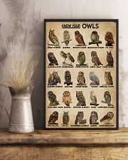 Know Your Owls 16x24 Poster lifestyle-poster-3
