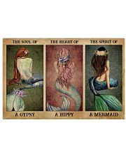 The Spirit Of A Mermaid 24x16 Poster front