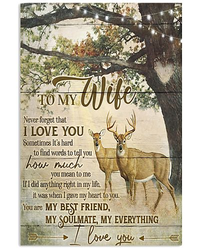 Deer To My Wife Love You