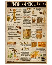 Honey Bee Knowledge Society Life 11x17 Poster front