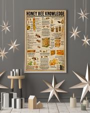 Honey Bee Knowledge Society Life 11x17 Poster lifestyle-holiday-poster-1
