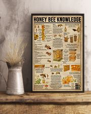Honey Bee Knowledge Society Life 16x24 Poster lifestyle-poster-3